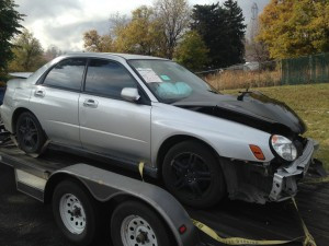 2003 subaru WRX right