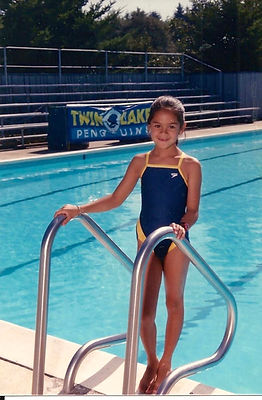 jaala shaw swimming as a child