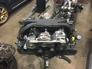 2011 Outback engine