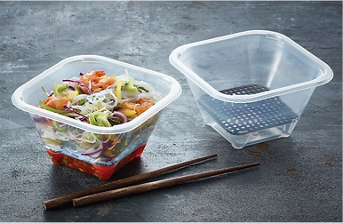 asian food in container
