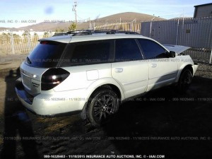 2005 Outback XT right