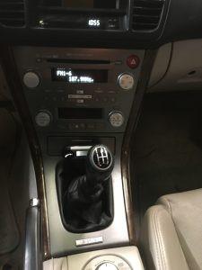 2007 Legacy GT interior