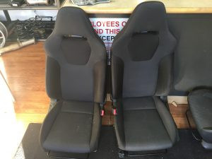 2008 Subaru WRX sedan seats