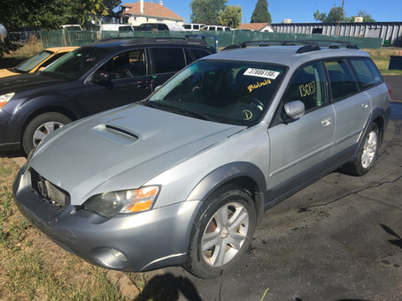 2005 Subaru Outback XT 136k 5speed M/T silver complete PART OUT