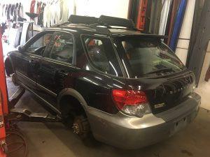 2005 Impreza OBS left rear