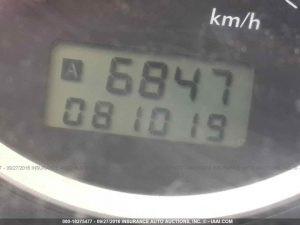 2006 Subaru WRX sedan mileage