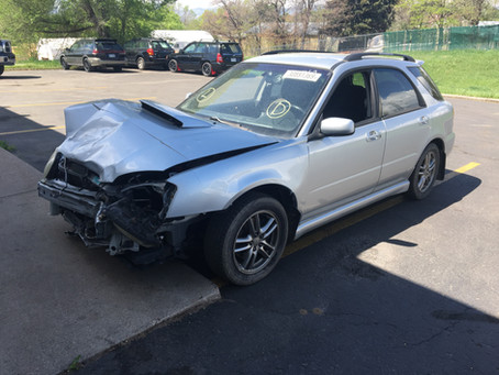 2005 Subaru Impreza WRX 139K Silver M/T