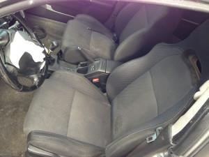 2004 Subaru WRX sedan interior