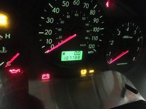 2007 Impreza 2.5i sedan cluster