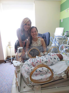 mary sarah with nicu mom