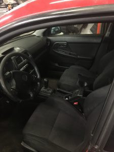 2004 WRX wagon interior