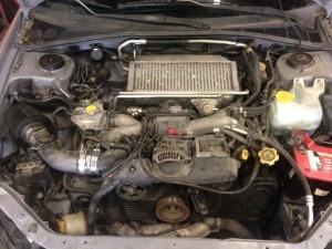 2005 WRX sedan engine