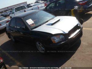 2004 Subaru WRX sedan RF
