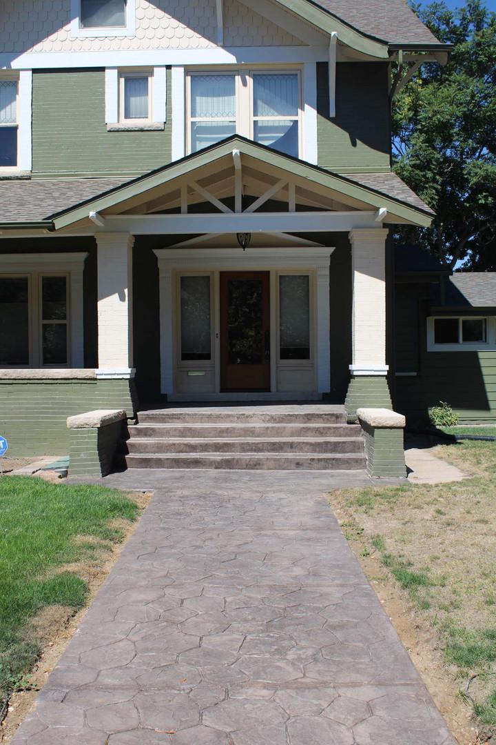 home front door enclosure
