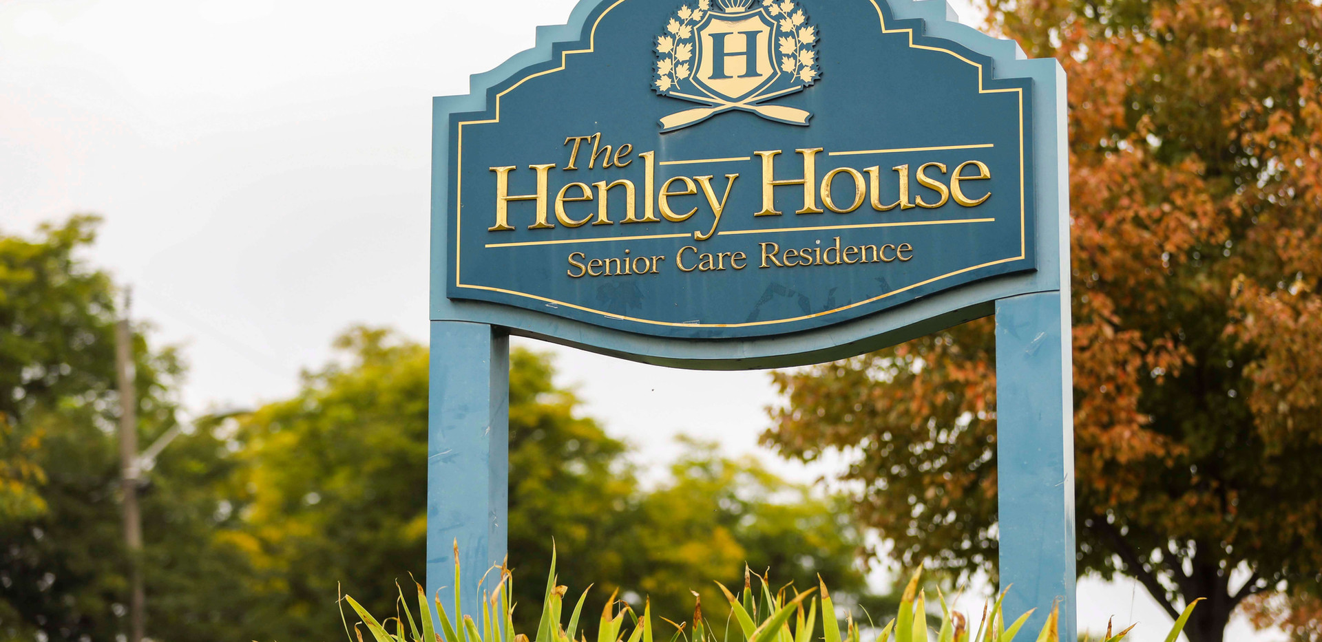 henley house senior living sign