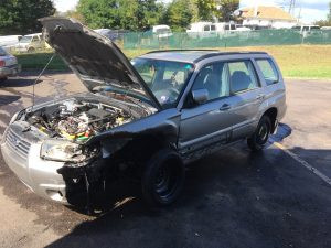 2007 Subaru forester front left