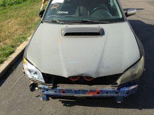 2005 Subaru WRX hawkeye front
