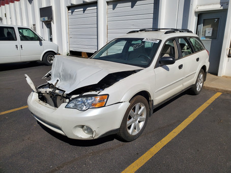 2006 Subaru Outback 2.5L 71k A/T 4eat White