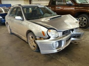 2003 WRX wagon front right