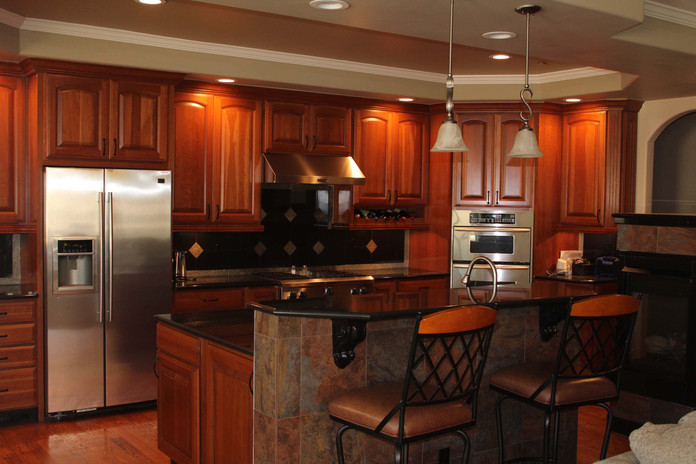 custom remodeled kitchen
