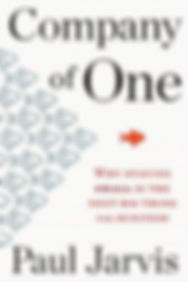 company of one, company of one book, paul jarvis, shaka designs