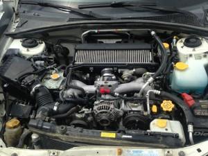 2005 Subaru Forester XT engine
