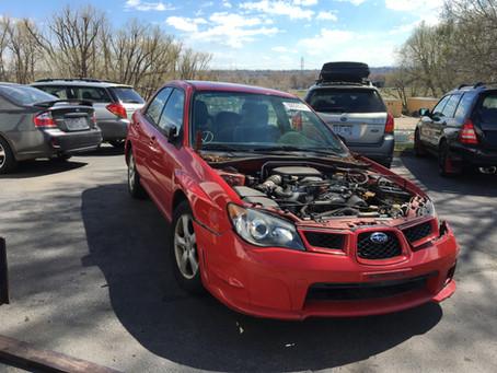 2006 Subaru Impreza sedan 60K RED A/T