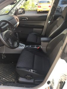 2004 Forester xt interior