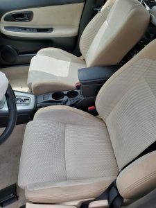 2007 Impreza wagon interior