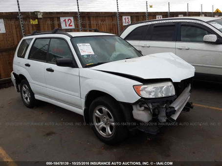 2006 Subaru Forester X 123k auto complete part out