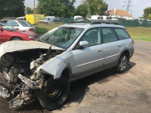 2005 Subaru outback front left