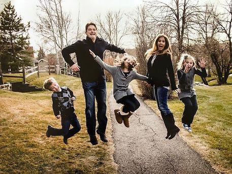 Steve Nevener and family