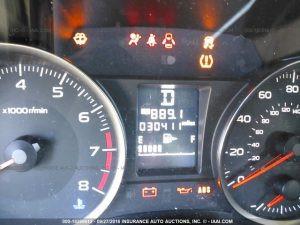 2015 Subaru Impreza sedan mileage