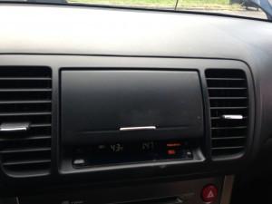 2005 Subaru Legacy 2.5i cubby