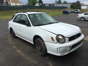2002 Impreza front right side