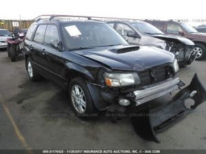 2004 Forester XT front right