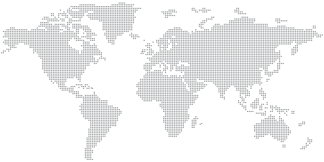 map of the world dot matrix