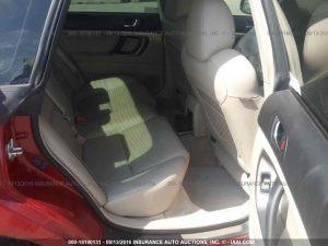 2005 Subaru Legacy GT interior2