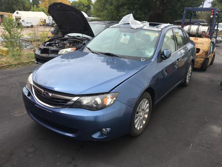2009 Subaru Impreza 2.5I Sedan Blue 116k A/T