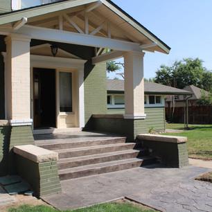 home doorway patio enclosure