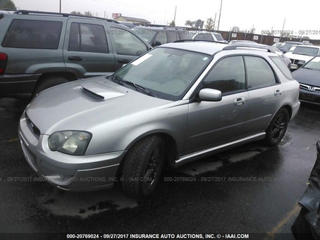 2005 Subaru WRX Wagon 236k 5 Speed M/T complete PART OUT