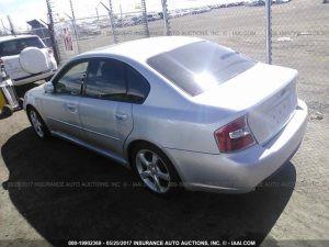 2005 Subaru Legacy GT left rear