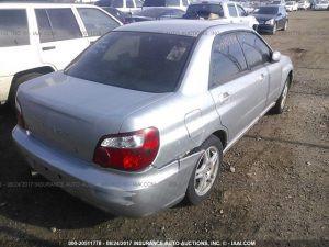 2005 Impreza right rear