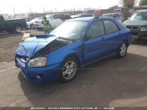 2004 Subaru WRX wagon LF