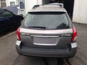 2008 Subaru Outback 2.5i rear