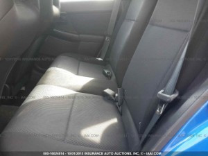 2004 Subaru WRX wagon rear seats
