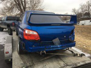 2004 WRX sedan rear