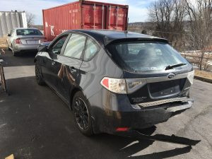 2008 Impreza hatch rear left