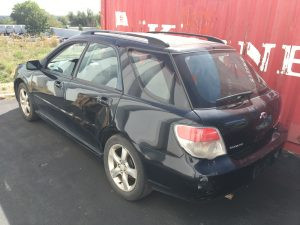 2007 Impreza wagon left rear