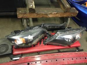 2008 Subaru WRX headlights